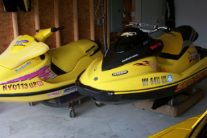 Sea Doo Garaged